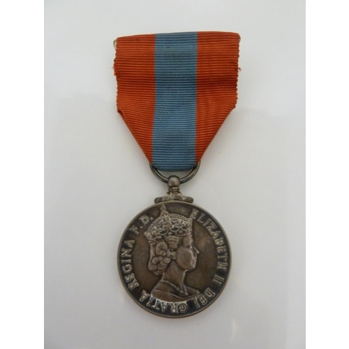117 - Medals & Decorations - a Elizabeth II Imperial Service Medal, awarded to Joseph William Goodenough, ...