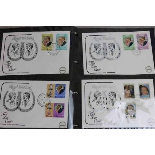 14 - Collections Mixed Lot 1973 Royal Wedding collection, unmounted stamps and First Day Covers...