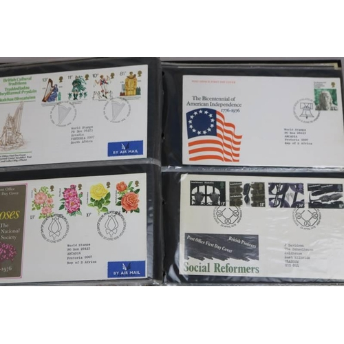 8 - An Album of First day covers...