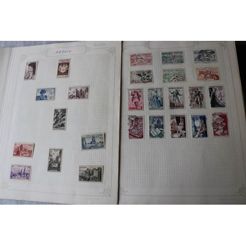 20 - France 1940s-50s fine mint and used collection on leaves include many better items...