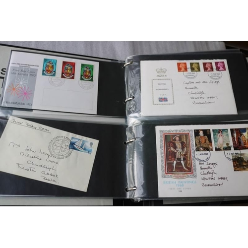 3 - Collections/Mixed lot Cover album including approx 100 GB and Rhodesia First Day Covers...
