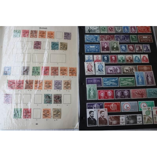 8 - Ireland 1922-1980 with various overprints mostly used with lots of commemorative sets mint or unmoun...