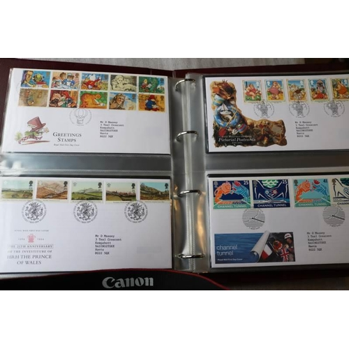 9 - GB Collections FDC's Jan 1993-June 1997 includes Greetings, £10, Prestige panes, Regionals in Royal ...