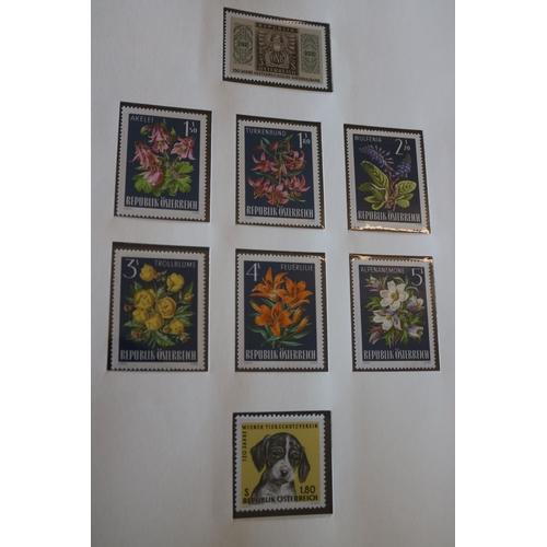 6 - An album of mint Austrian stamps...