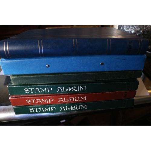12 - GB and world stamps in 6 stockbooks...