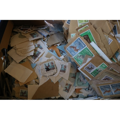 14 - A shoebox of Malawi and Southern Rhodesia on paper...
