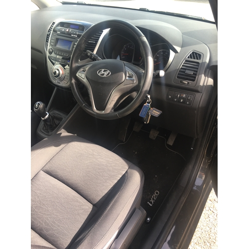 1 - A hyundai ix20, 2011 Petrol 1.4. Noted some front end damage would recommend viewing. Mileage is app...