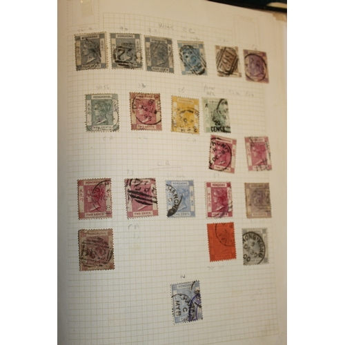 16 - An album containing approx 300 Hong Kong stamps from QV to 1985...