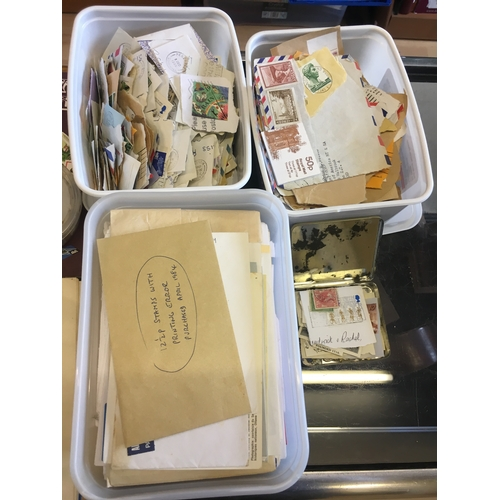 10a - Large selection of assorted loose stamps, albums and first day covers...