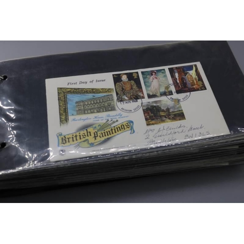 11 - 1964-75 range of 64 FDCs including cathedrals and Canterbury FDI...