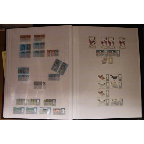 23 - Fine stockbook including QV 1d reds through to um decimals...