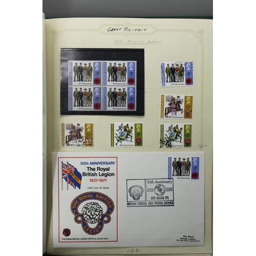 10 - Album 1971-1979 mint and used , according to collector cat £400+...