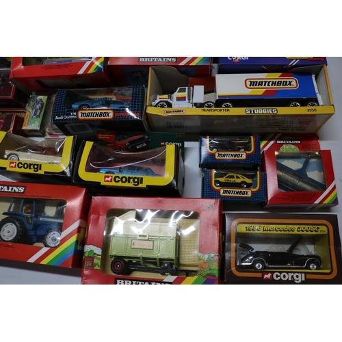 5 - Good quantity of boxed Corgi and Matchbox vehicles....