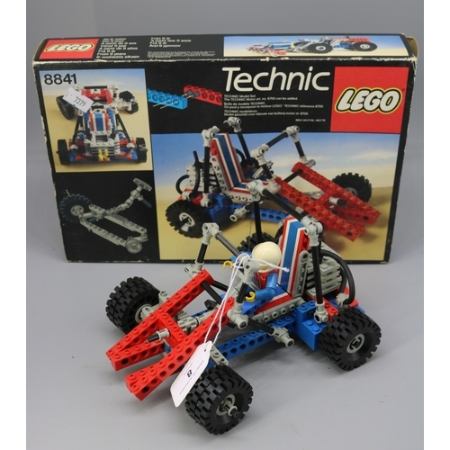 8 - Lego technics 8841 ?go cart with box not checked for completeness....