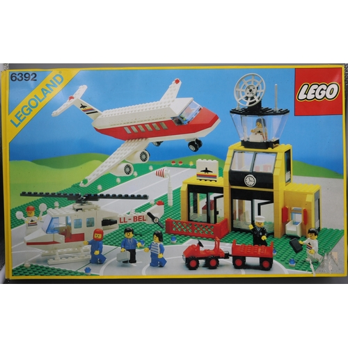 10 - Lego 6392 airport set boxed with instructions, not checked for completeness....