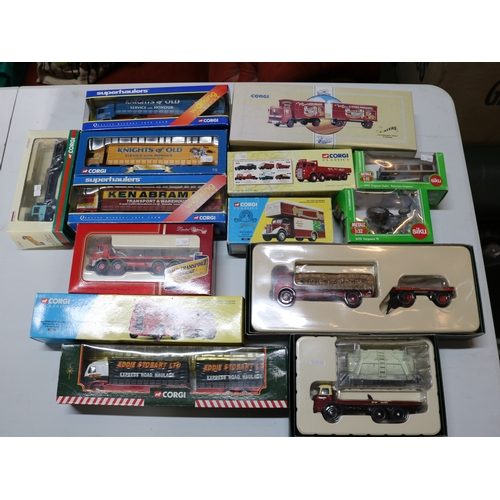 43 - An assortment of boxed Corgi Superhaulers, together with other models and including limited editions...