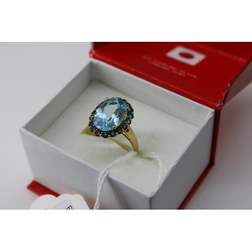 10 - A QVC 9k gold decorative dress ring approx size O/P...