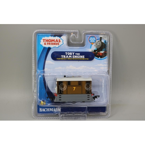 20 - A Bachmann Thomas and friends Toby the Tram engine - with original packaging...