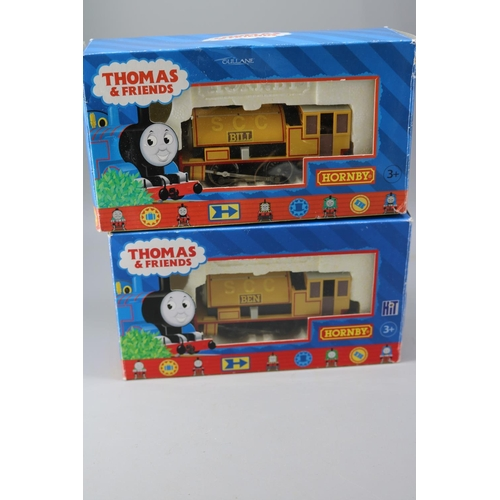 26 - Hornby Thomas and Friends  Ben 0-4-0 Engine R9048 together with Bill Engine R9047...
