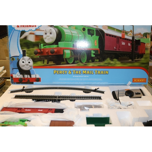 42 - Honrby Thomas and Friends Percy and the Mail train set R9284...