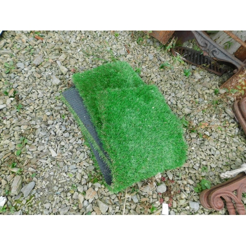 16 - Two piece of AstroTurf...