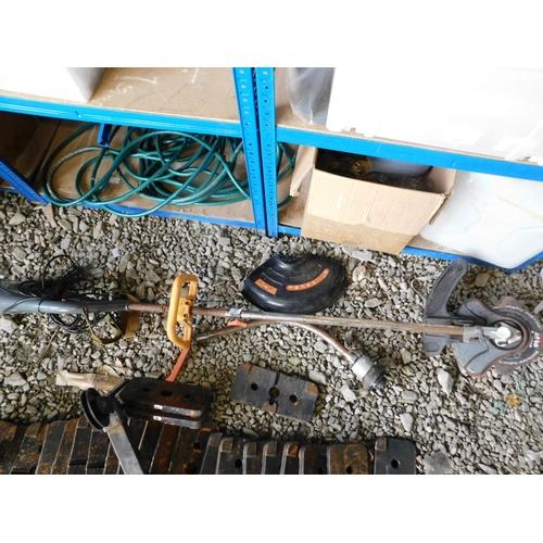 27 - Electric grass cutter and brush cutter...