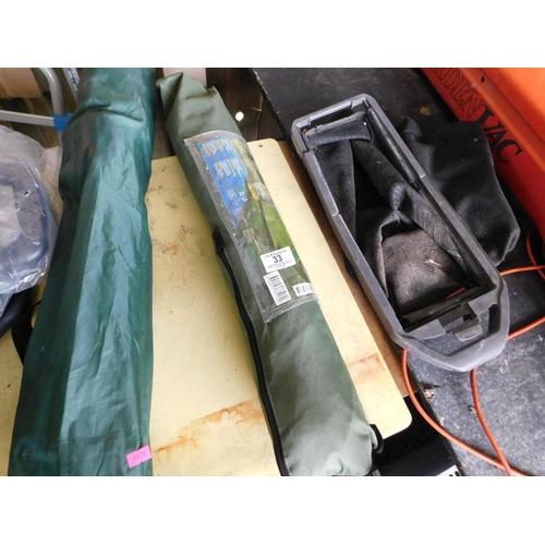 33 - Fishing tent...