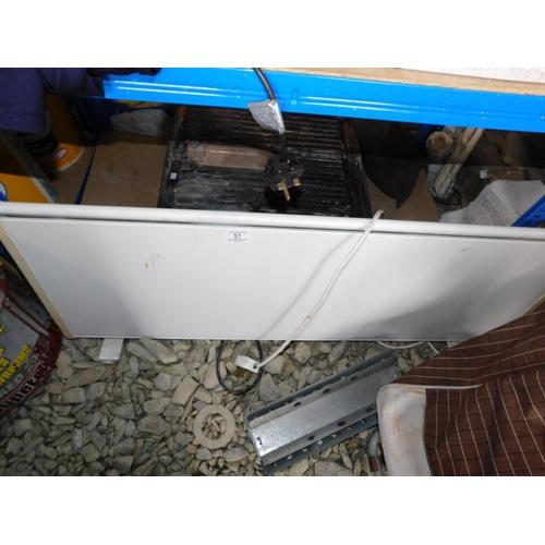 51 - Slimline electric heater GWO...