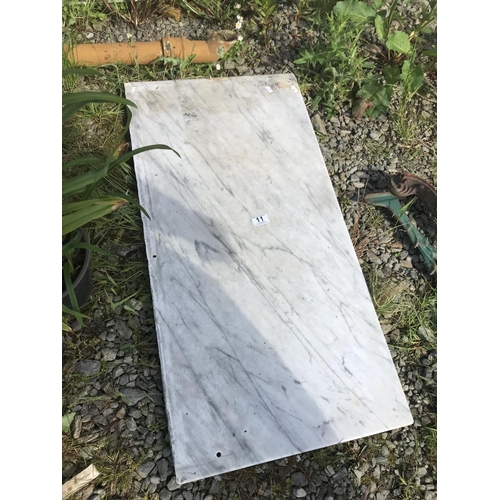 11 - Slab of marble...