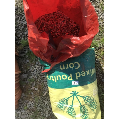 13 - Two bags of vermiculite...