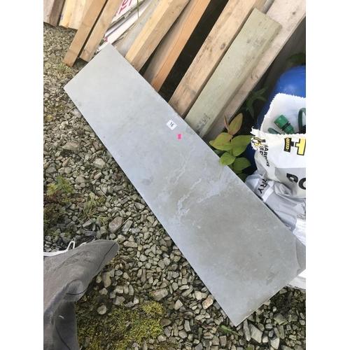 16 - Length of slate...