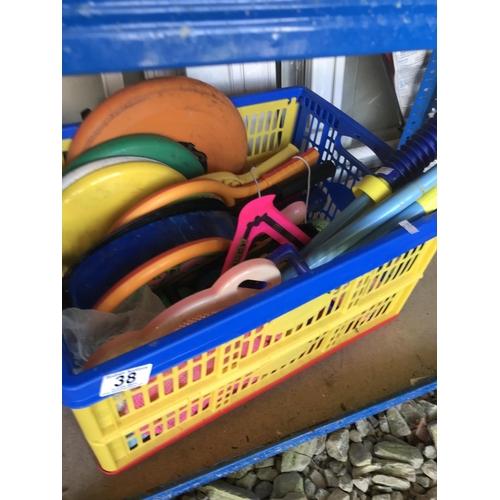38 - Various beach toys...