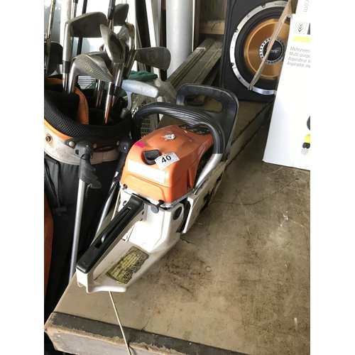 40 - Chainsaw - untested...