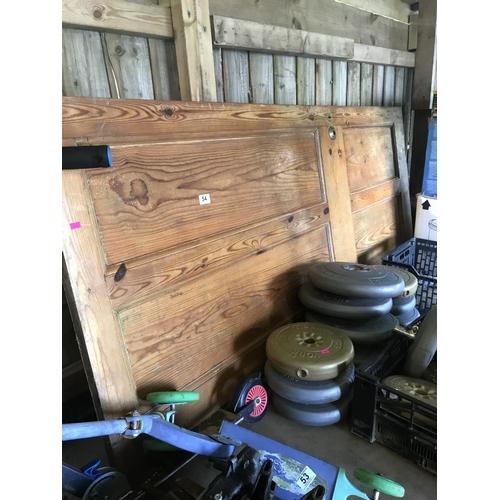 54 - Pine door...