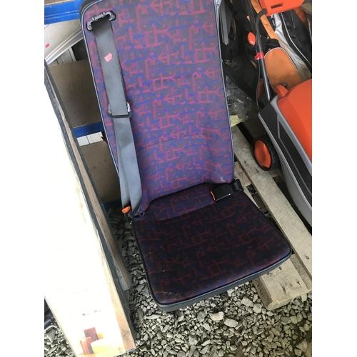 38 - Van seat with inbuilt seatbelt...
