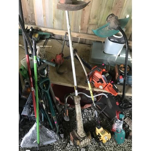 43 - Stihl professional petrol strimmer spares & repairs...