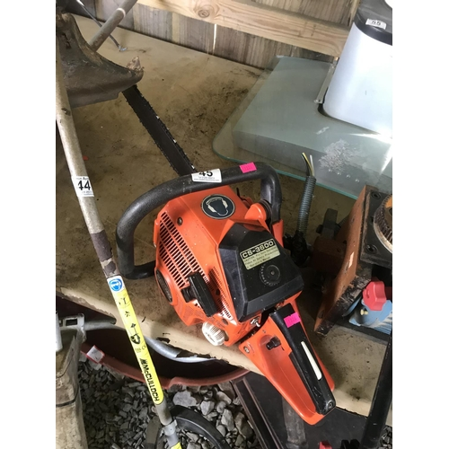 45 - Echo chainsaw GWO...