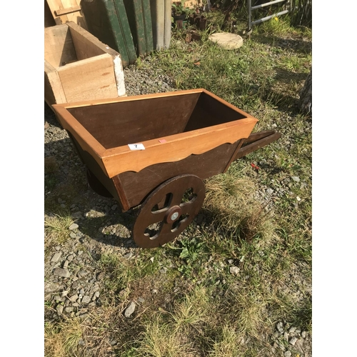 7 - Small two wheel cart...