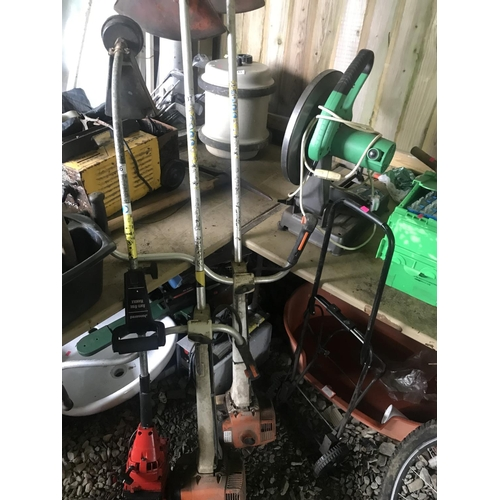 37 - Two Stihl petrol strimmers spares & repairs...