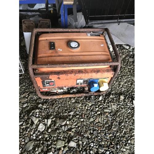 21 - A generator spares & repairs...