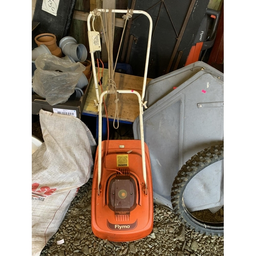 20 - Flymo lawn mower GWO (needs power cable)...