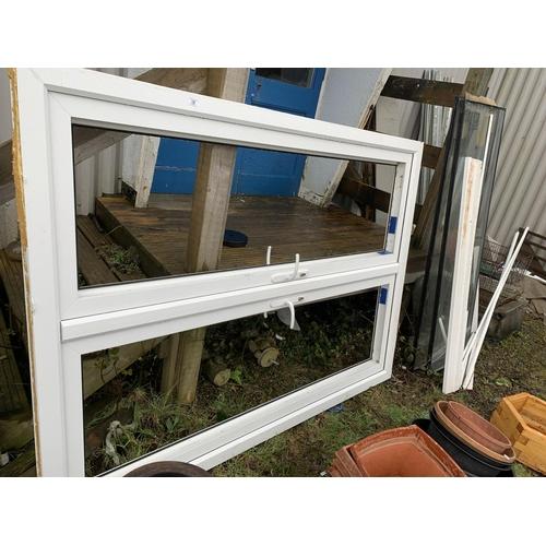 19 - Double patio doors (complete including keys)...