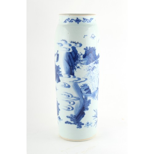 299 - The Martin Robert Morland CMG (1933-2020) collection of Chinese ceramics - a Chinese blue & white sl...