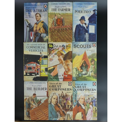 7 - Nine vintage Ladybird children's books. UK Postage £12