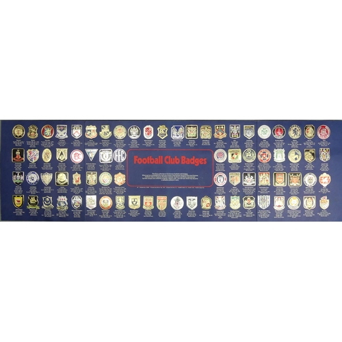 53 - The Esso collection of Football Badges, 1970's. UK Postage £15.