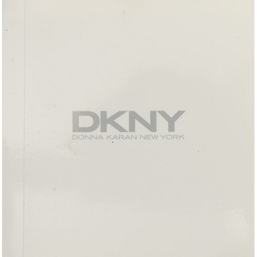 152 - DKNY Stainless Steel 120505 NY 3369 watch and box. UK Postage £15.