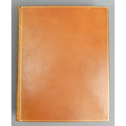 206 - A leather bound beautifully illustrated catalogue of miniatures 'The Collection of The House of Brun...