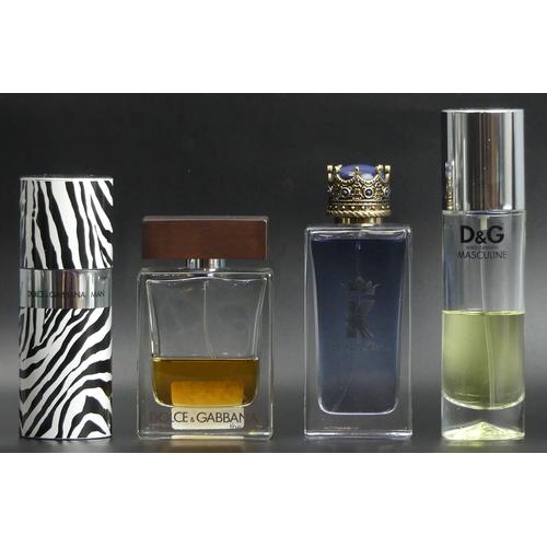 227 - Four bottles of Dolce & Gabbana 100ml Eau de Toilette. Various levels. UK Postage £15.