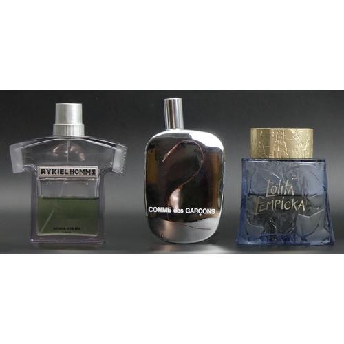 230 - Rykiel Homme 125 ml Eau de Parfum, Lolita Lempicka 100 ml Eau de Toilette, Commes des Garcons 100 ml...