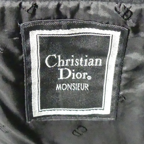 325 - Christian Dior wool jacket silk lined. Size XL. UK Postage £20.